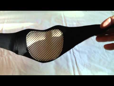 Cintura riscaldamento collo tormalina  massaggiatore cervicale, by BangGood