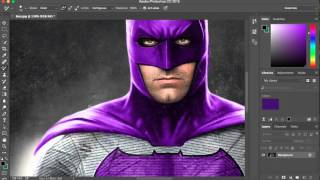 Batman Into Joker Colours | Photoshop CC | HD |