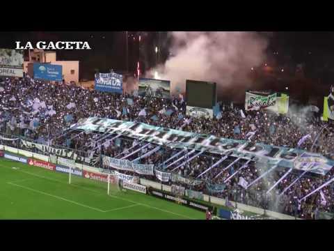 """""""Mirá el recibimiento de los hinchas de Atlético"""" Barra: La Inimitable • Club: Atlético Tucumán"""