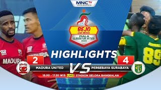 MADURA UNITED VS PERSEBAYA (FT 2-4) - Highlights Bejo Jahe Merah Piala Gubernur Jatim 2020