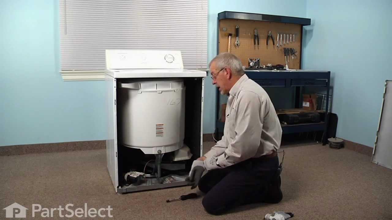 Replacing your Frigidaire Washer Drain Pump - 120V 60  Hz.