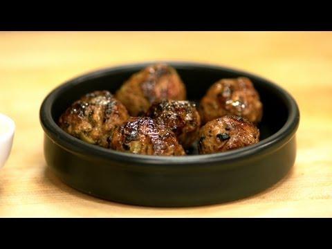 Video Lamb Meatballs Recipe - Summer Tapas Series, Tapas 4 - CookingWithAlia - Episode 265
