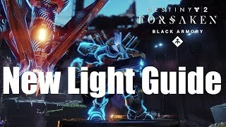 How To Unlock Black Armory Forges As A New Light Player In Destiny 2