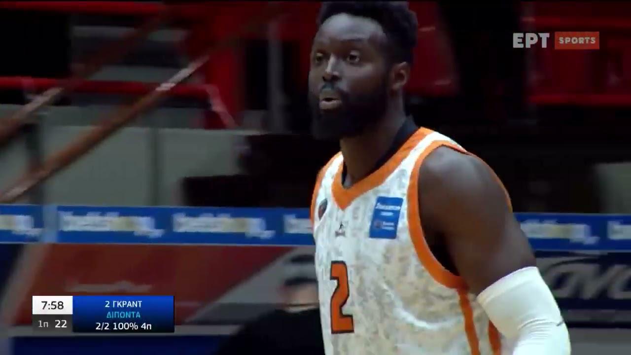 Basket League | Προμηθέας Πάτρας – Ιωνικός Νικαίας | 27/03/2021 | ΕΡΤ