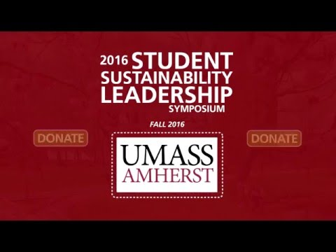 Support the 2016 Student Sustainability Leadership Symposium