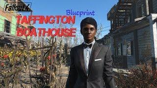 Taffington Boathouse settlement blueprint