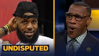 Shannon Sharpe reacts to LeBron's Lakers debut not part of opening night action | NBA | UNDISPUTED
