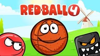 RED BALL 4 КРАСНЫЙ ШАРИК 4 Часть 2 ДРЕМУЧИЙ ЛЕС прохождение ВИДЕО ДЛЯ ДЕТЕЙ как мультик #kids games