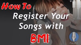 HowToRegisterYourSongwithBMI
