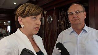 Ljudmila Novak in Jožef Horvat o grški krizi in obisku prleških podjetnikov