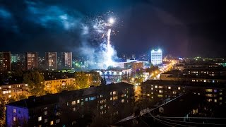 preview picture of video 'Степногорск 50 лет! Timelapse Stepnogorsk 2014'