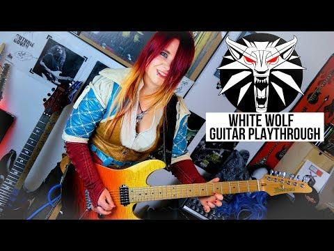 WHITE WOLF - Oversense feat. Triss Merigold [ORIGINAL SONG Guitar Playthrough] | Jassy J