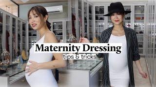 Maternity Dressing (USING MY OLD CLOTHES!) | Kryz Uy