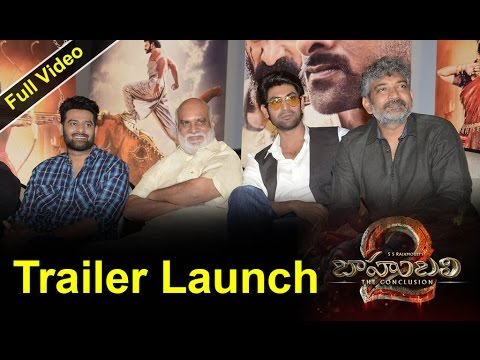 Bahubali 2 Trailer Launch