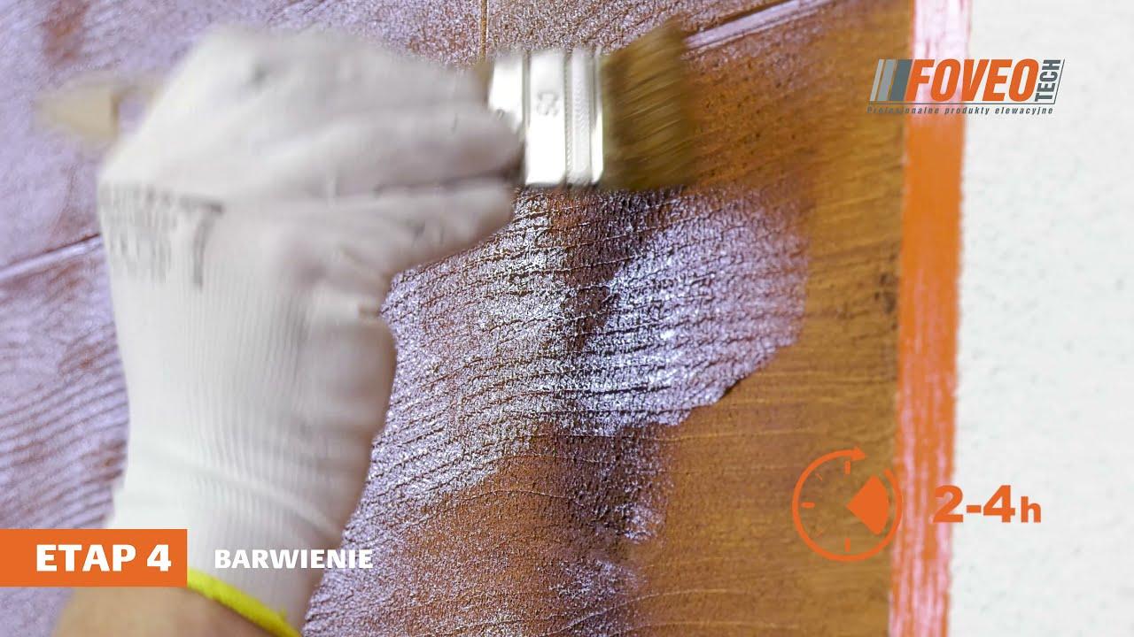 Zobacz jak wykonać efekt deski na elewacji domu