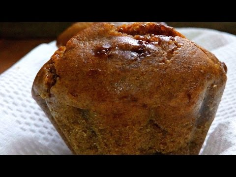 Eggless Banana and Chocolate Chip Muffins Baked in a Sufuria | Pressure Cooker | Jikoni Magic