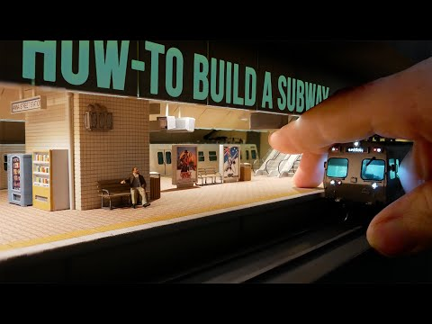 Scratch Build a Tiny Subway [33:52]