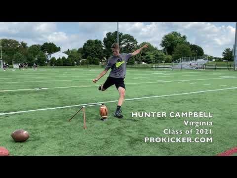 Hunter Campbell - Ray Guy Prokicker.com Kicker Punter