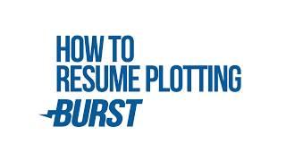 How to resume plotting for burst 2018 (Qbundle) - Burstcoin