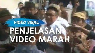 Penjelasan Dadang Solihin tentang Video Marah dirinya saat Menghadiri Diskusi Publik di TMI