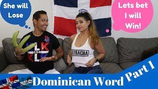 Honduran 🇭🇳 Girlfriend Guess, Dominican 🇩🇴 Boyfriend Slang Part One ( Ft. Yesmin Vanessa)
