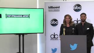 Top Streaming Artist Finalists - BBMA Nominations 2015