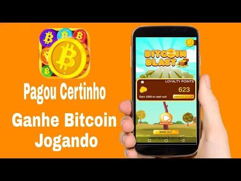 BITCOIN BLAST! Pagou em 24 Horas - Ganhe Satoshis de Bitcoin Jogando
