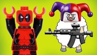 Опасное интервью! Новые Лего мультики для детей  Мультфильмы на русском 2018  Джокер и Робин