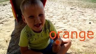 Английский для детей. Учим цвета и цифры на Английском языке Learn colors and numbers for kids