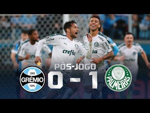 Grêmio 0 x 1 Palmeiras: Verdão larga na frente na decisão da Libertadores;  veja as entrevistas!