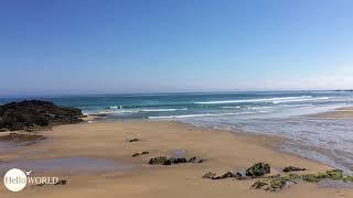 Toller Strand Richtung Malpica