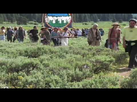 RAINBOW GATHERING (part 2) Warriors of the Rainbow: The Movie