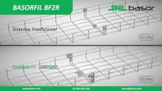 Bandeja de Hilo / bandeja de rejilla enchufable BASORFIL BF2R Español HD Basor Electric