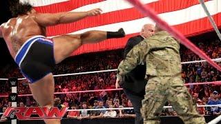 Big E vs. Rusev: Raw, Oct. 20, 2014