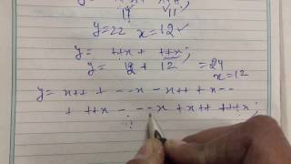 Trick To Solve Prefix And Postfix Expression In Seconds