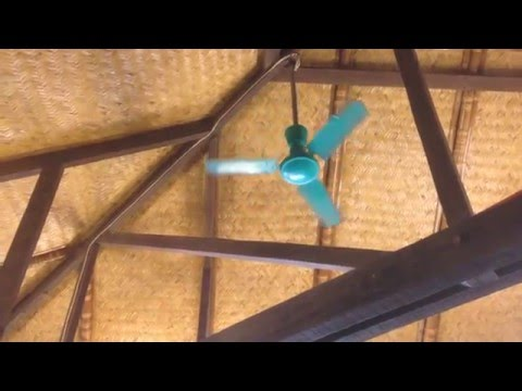 "(Performance video) Another 3D brand ""Aero-Master"" 36"" industrial ceiling fan"