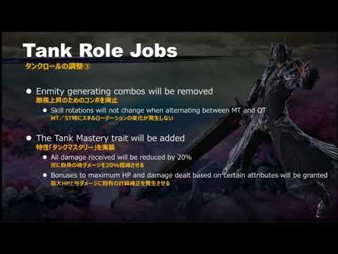 Shadowbringers tank and healer changes upset me :: FINAL