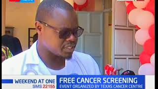 Residents of Kamukunji  benefit from free cancer screening underway at the California resource centr