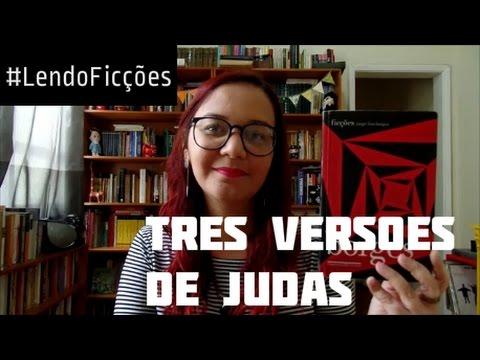 #LendoFicções: Três Versões de Judas