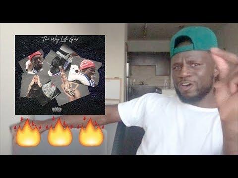 Lil Uzi Vert - The Way Life Goes Remix (Feat. Nicki Minaj) [Official Audio] REACTION