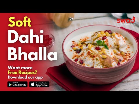 🔴 Live ~ Dahi Bhalla Chaat | Dahi Vada | Free Online Cooking Classes by Swad
