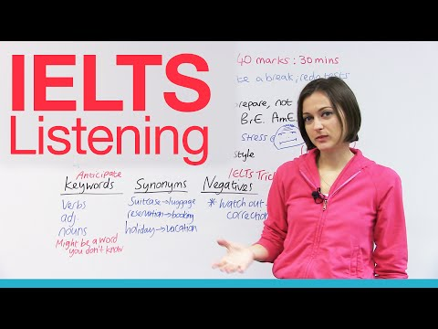 IELTS Listening - How to Get a High Score