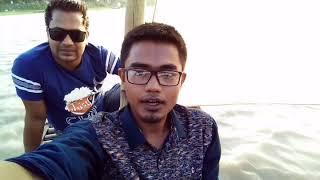preview picture of video 'Journey by boat _ নৌকা ভ্রমন _jamalpur sherpur bridge _ ব্রম্মপুত্র নদ'