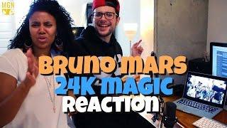 Bruno Mars  24K Magic Reaction