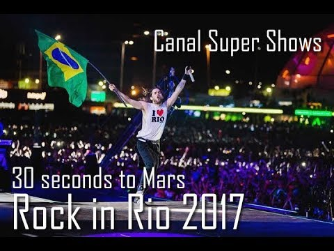 30 Seconds to Mars Rock in Rio 2017 Complete Show