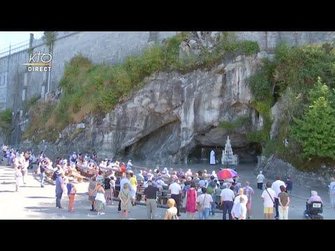 Chapelet du 14 septembre 2020 à Lourdes