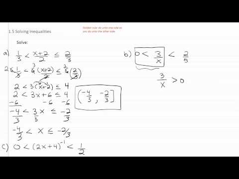 Solving Inequalities p3
