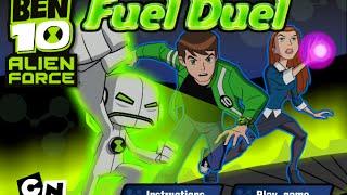 Ben 10 Games to Play Online 2015 - Ben 10 Fuel Duel, Ben 10 Gameplay 2015,  Alien Force Games