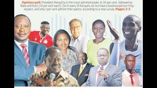 Most respected Kenyans, business Leaders trail in list of role models | Press Review