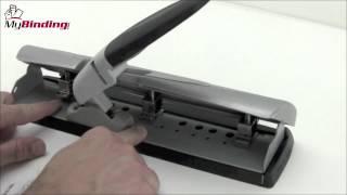 SwingLine LightTouch Desktop Hole Punch Demo - SWI-74014